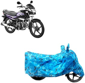ABS AUTO TREND Two Wheeler Body Cover For  Hero Motocorp Super Splendor Assorted Color