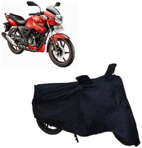 ABS AUTO TREND Two Wheeler Body Cover For Tvs Apache Rtr 160 (Black)