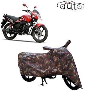 ABS AUTO TREND Jungle Bike Body Cover for Hero Passion X Pro ( Multi )