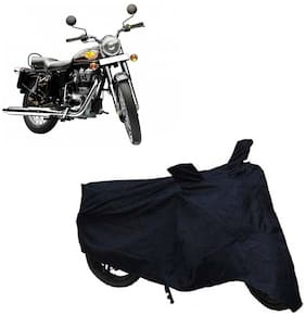 ABS AUTO TREND Two Wheeler Body Cover For Royal Enfield Bullet 350 (Black)