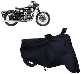 ABS AUTO TREND Two Wheeler Body Cover For Royal Enfield Classic 350 (Black)