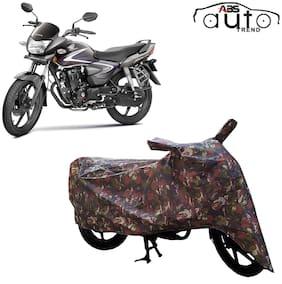 ABS AUTO TREND Jungle Bike Body Cover for Honda Cb Shine ( Multi )