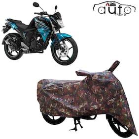 ABS AUTO TREND Jungle Bike Body Cover for Yamaha Fz-S-Fi (V2.0) ( Multi )