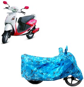 ABS AUTO TREND Two Wheeler Body Cover For  Hero Motocorp Pleasure Assorted Color