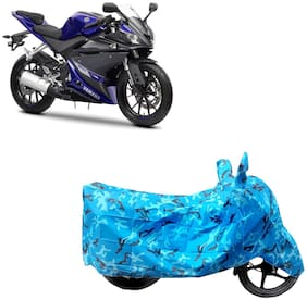 ABS AUTO TREND Two Wheeler Body Cover For Yamaha Yzf R15 V3.0 Blue