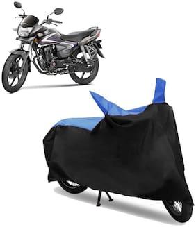 Abs Auto Trend Bike Body Cover for HONDA CB SHINE ( Black and Blue )