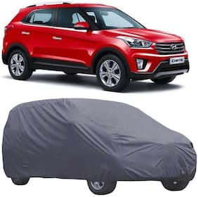 ABS AUTO TREND Car Body Cover For Hyundai Creta ( Grey )