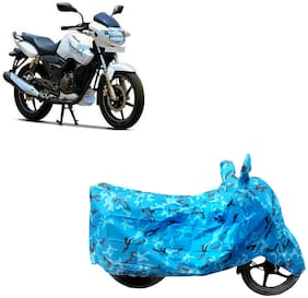 ABS AUTO TREND Two Wheeler Body Cover For Tvs Apache Rtr 180 Blue