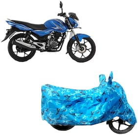 ABS AUTO TREND Two Wheeler Body Cover For  Bajaj Discover 100 M Assorted Color