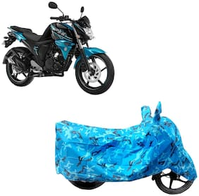 ABS AUTO TREND Two Wheeler Body Cover For Yamaha Fz-S-Fi (V2.0) Blue