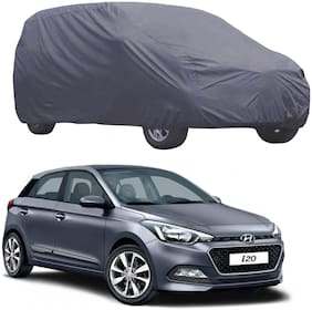 ABS AUTO TREND Car Body Cover For Hyundai I 20 ( Grey )