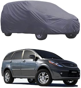 ABS AUTO TREND Car Body Cover For Tata Aria ( Grey )