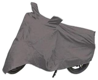 Abs Auto Trend Bike Body Cover For Hero HF Deluxe ( Grey )