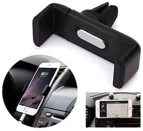 AC Vent Mobile Holder Stand Universal 360 deg Rotate with Adjustable (Black Color) 1Pc