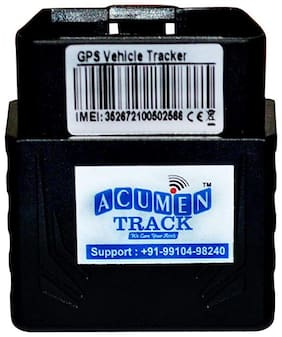 Acumen Track OBD -II Plug and Play Wireless GPS Tracker Only for Car