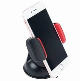 Adjustable Universal Car Mobile Holder - Car Mount 360 ° Rotation with Quick One Touch Technology