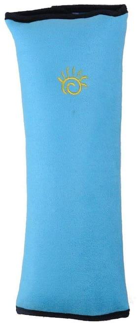 Aeoss Children Baby Safety Strap Soft Headrest Neck Support Pillow Shoulder Pad for Car Safety Seatbelt Blue