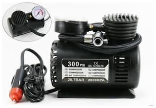 Air Compressor for Car and Bike 12V 300 PSI Tyre Inflator Air Pump for Motorbike
