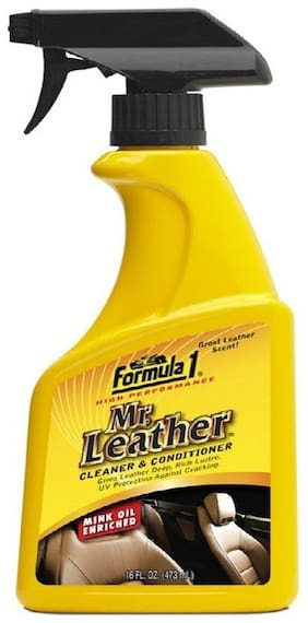 Air show- Formula 1 Mr.Leather Spray Cleaner and Conditioner (473 ml) ORIGINAL