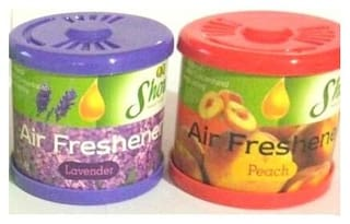 Air show Gel Air freshners  Combo  2 pcs set  Lavender & Peach
