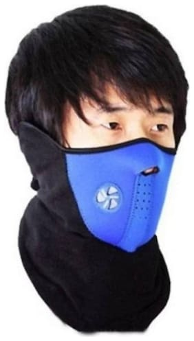 Air Supplier With Soft Cotton Full Mask Free Size
