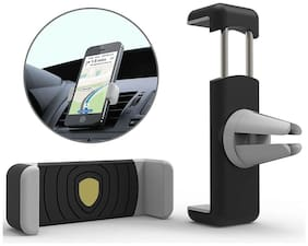 Air-Vent Car Mount Mobile Holder Stand  All Mobile Phones 10.16 cm (4 inch) to 13.97 cm (5.55 inch)