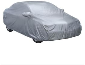 AMAZE-SILVER CAR BODY COVER WITH MIRROR POCKET