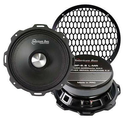 "American Bass SQ5.25 Speaker 5.25/"" 2-Way 120Watts Sq5.2 American Bass"