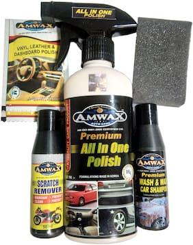 Amwax Car & Bike Care Kit