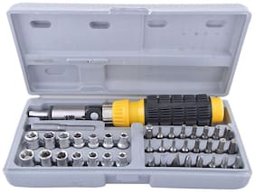 Andride 2017 new 41 In 1 Pcs Tool Kit & Screwdriver and Socket Set