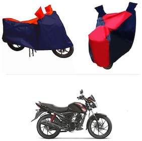 Andride ADTBC112 Bike Body Cover (Red and Blue) for Suzuki Sling Shot Plus