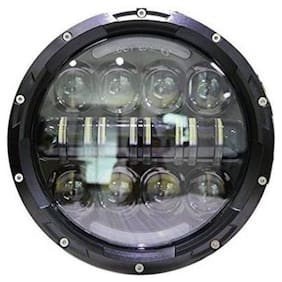 Andride Headlight LED for Royal Enfield, Mahindra (Classic 500, Classic 350, Jeep, Thar)