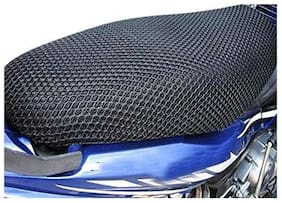 Andride Motorcycle/ Scooty Net Fabric Seat Cover