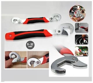 Andride Snap n Grip Multipurpose Auto Adjustable Wrench set of 2