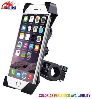 Andride Universal Bike Holder 360 deg Rotating Bicycle Holder Motorcycle cell phone Cradle Mount Holder for All Size Mobile Phones