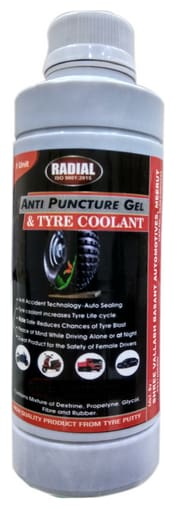 Autemocare Anti Puncture Gel for Tubeless Tyres ( Pack of 1 Unit )