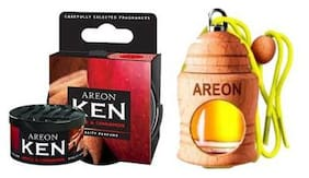 Areon Ken Car Perfume + Areon Fresco Car Perfume Liquid