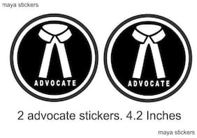 ARWY car stickers exterior advocate logo for car stickers color black