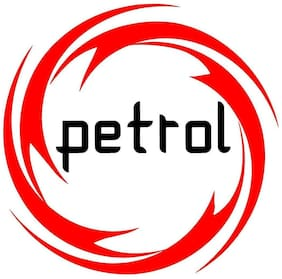 ARWY car stickers exterior (Discounted Pack of 2) Petrol Sticker Fuel Reminder Decals Size (11.5 Cm. X 11.5 Cm.)