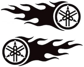 ARWY Car stickers exterior Yam Tank Windows, Sides, Hood, Bumper Car Sticker (Black)(pack o...