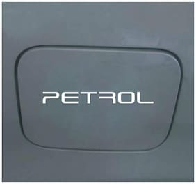ARWY Decorative Petrol.. Decal Vinyl Windows, Sides, Hood, Bumper Car Sticker (White)