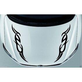 ARWY flame strip car sticker for window hood car sticker