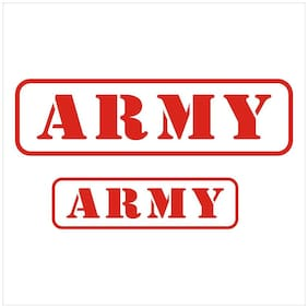 ARWY INDIAN ARMY Reflective car decal Windows Hood Sides sticker-2 Stickers Include Standard Size for Bike & Car