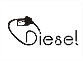 ARWY vinyl Pump Fuel Diesel Sticker Windows, Sides, Hood, Bumper Car Stick