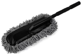 Aryshaa Admay Car Wash Cleaning Brush Duster Dust Wax Mop Microfiber Dusting Tool (Pak of 1)