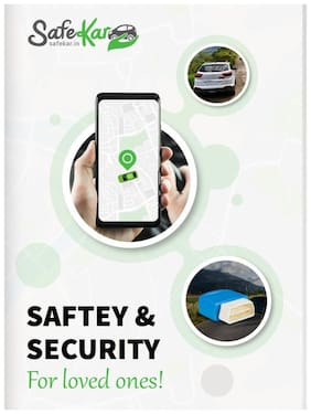 AssetTrackr SafeKar GPS Tracker for Car Tracking 1 Pc
