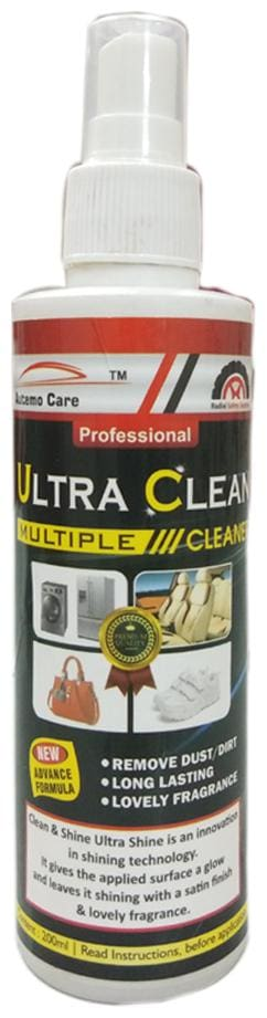 Autemocare All in One Ultra Cleaner for CAR and Bike Interior and Exterior 200ml Pack of 1