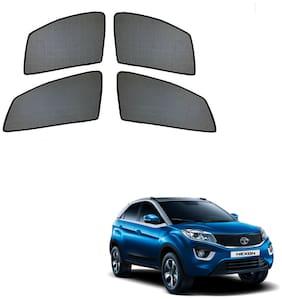 Auto Addict Half Magnetic Car Sunshades Curtain For Tata Nexon (Black)