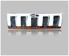 Auto Pearl Car Chrome Front Grill Upper For Mahindra TUV 300