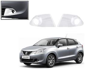 Auto Pearl-Premium Quality Chrome Plated Fog Lamp Cover For -Maruti Suzuki Baleno New
